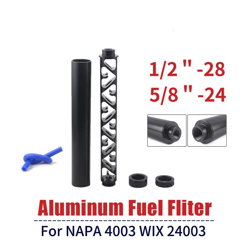 فلتر الوقود المذيبات مصيدة 6 بوصة 10 بوصة جديد دوامة 1/28 5/8/8-24 واحدة الأساسية فلتر الوقود السيارة الأساسية ل NAPA 4003 WIX 24003 مرشحات الوقود