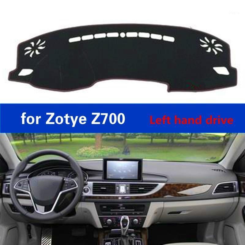 Tableau de bord de voiture Tapis pour Zotye Z700 LHD Accessoires Polyester Fibre Auto Dash Board Tapis de protection Claque de voiture Light Pad1
