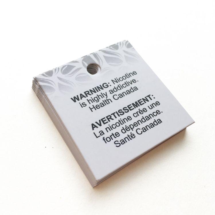Тег одежды Hang Tag Changtag 100 шт. Индивидуальные 400 Грам Художественная бумага CMYK Печатная присварная бирка с матовой ламинированием для женской одежды