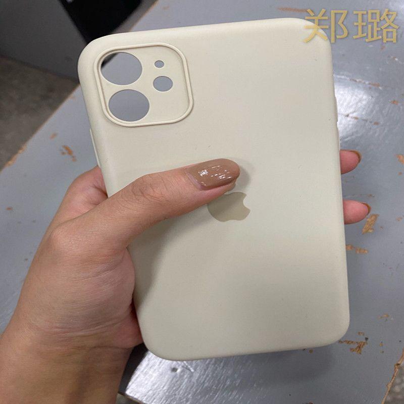 Mode, versucht Einfachheit Den Apfel 11 Fall, flüssiges Silikon, die Kamera 11 Apfel-, all-in-one Fall, super dünn