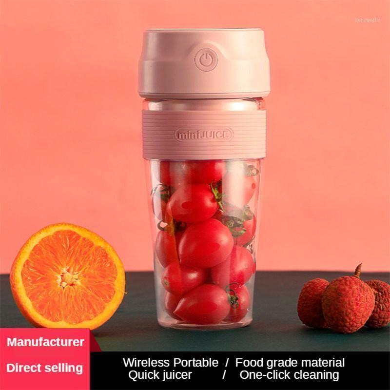 مصغرة المحمولة عصارة كهربائية صغيرة المنزلية خلاط USB شحن مرافقة آلة الفاكهة للسفر عصير الكأس الكهربائية 1