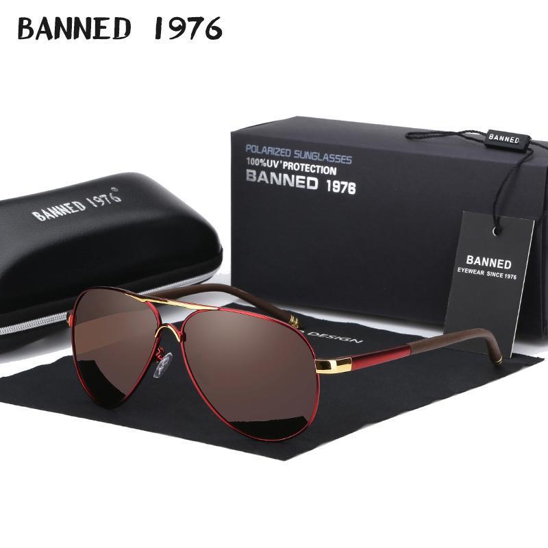 Oculos Hommes / Femmes Conduite de la mode Lunettes de soleil de la mode Aluminium Brand Verres de soleil pour lentille 2020 Eye de lunee designeurs polarisés Hommes JVTOV