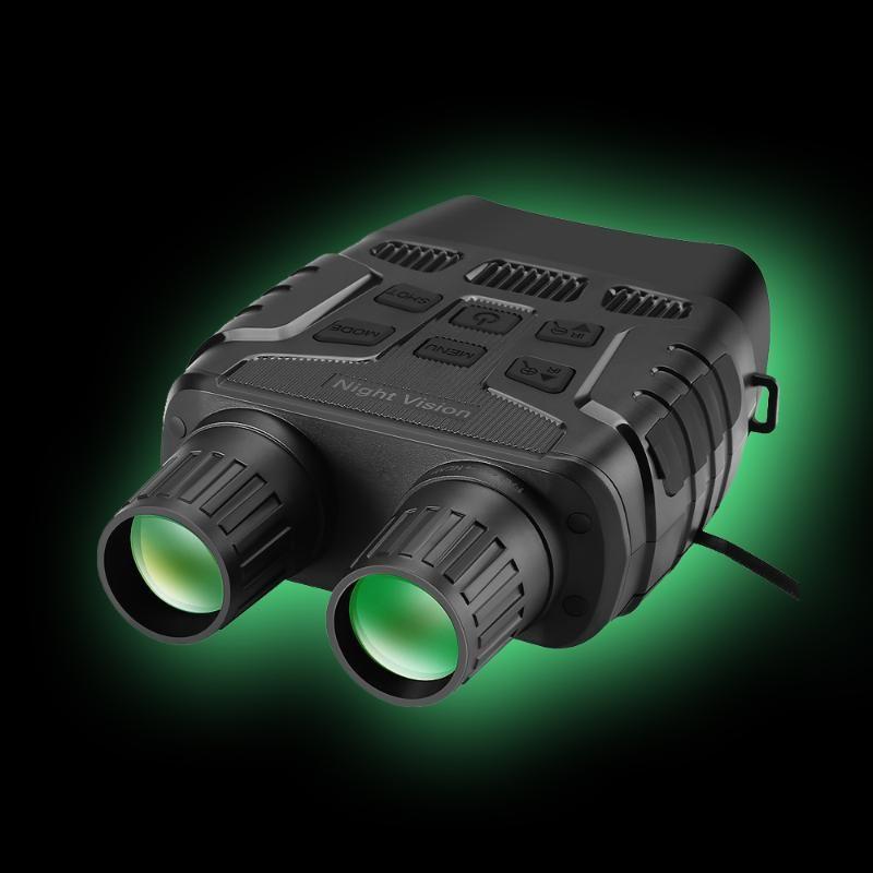 Doornanny Gece Görüş Cihazı Dürbün 300 Yards Dijital IR Teleskop Optik2.3 'Ekran Fotoğraflar Video Kayıt Avcılık Kamera