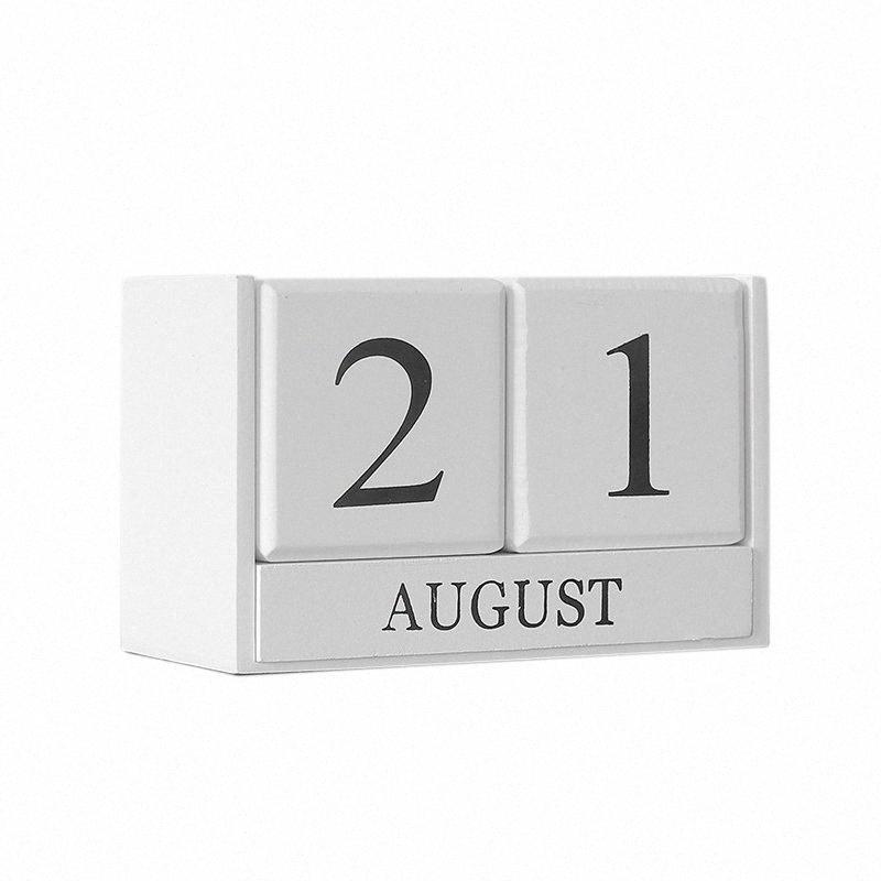 Tavolo in legno calendario decorazione controsoffitto decorazione bianca calendario domestico scuola ufficio decorazioni decorazione decorazione della casa per la casa di Natale de z5ly #