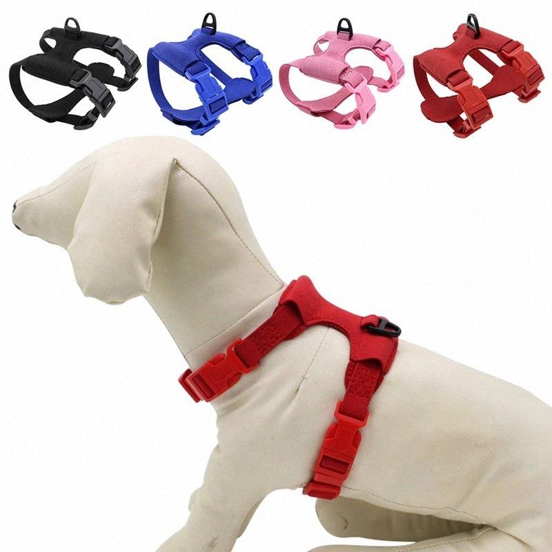 Pet Adjustable Vest Harness for Small Dogs and Cats High-quality Cat Travel Accessories Chest Belt Wholesale 810g#