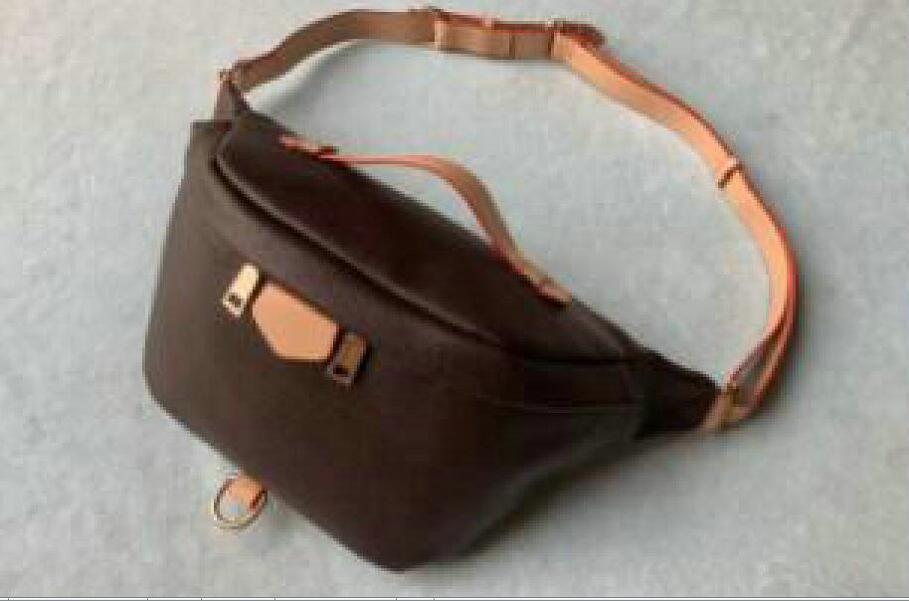 Moda Mais Novo Stlye Bags Bumbag Bag Body Bags Cintura Cruz Marrom 2021 Unisex Bum ombro cintura famosa ljcop