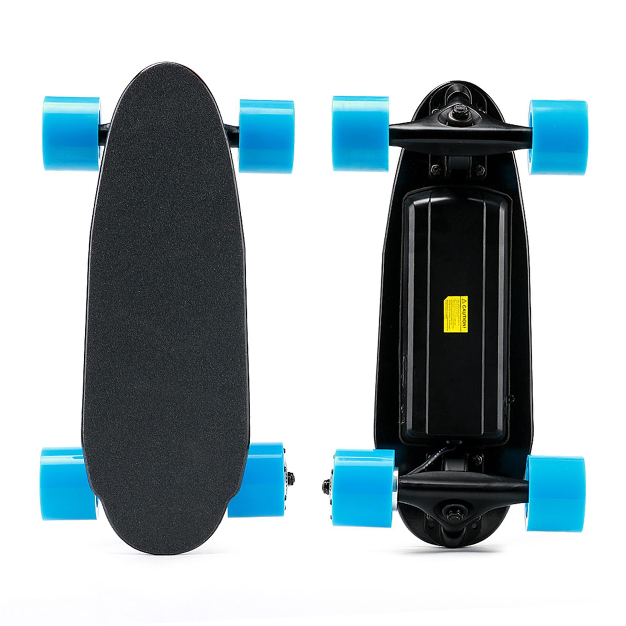 US-Aktien 4 Wheel Mini elektrisches Skateboard mit bestem Motor-Kit ausgestattet für Erwachsene Sport 11A Skateboard Elektroroller W34815706
