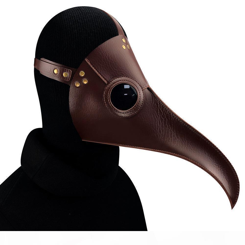 Máscara de Halloween Plague longas Birds Doctor Prom cosplay máscara de vapor Máscara Punk