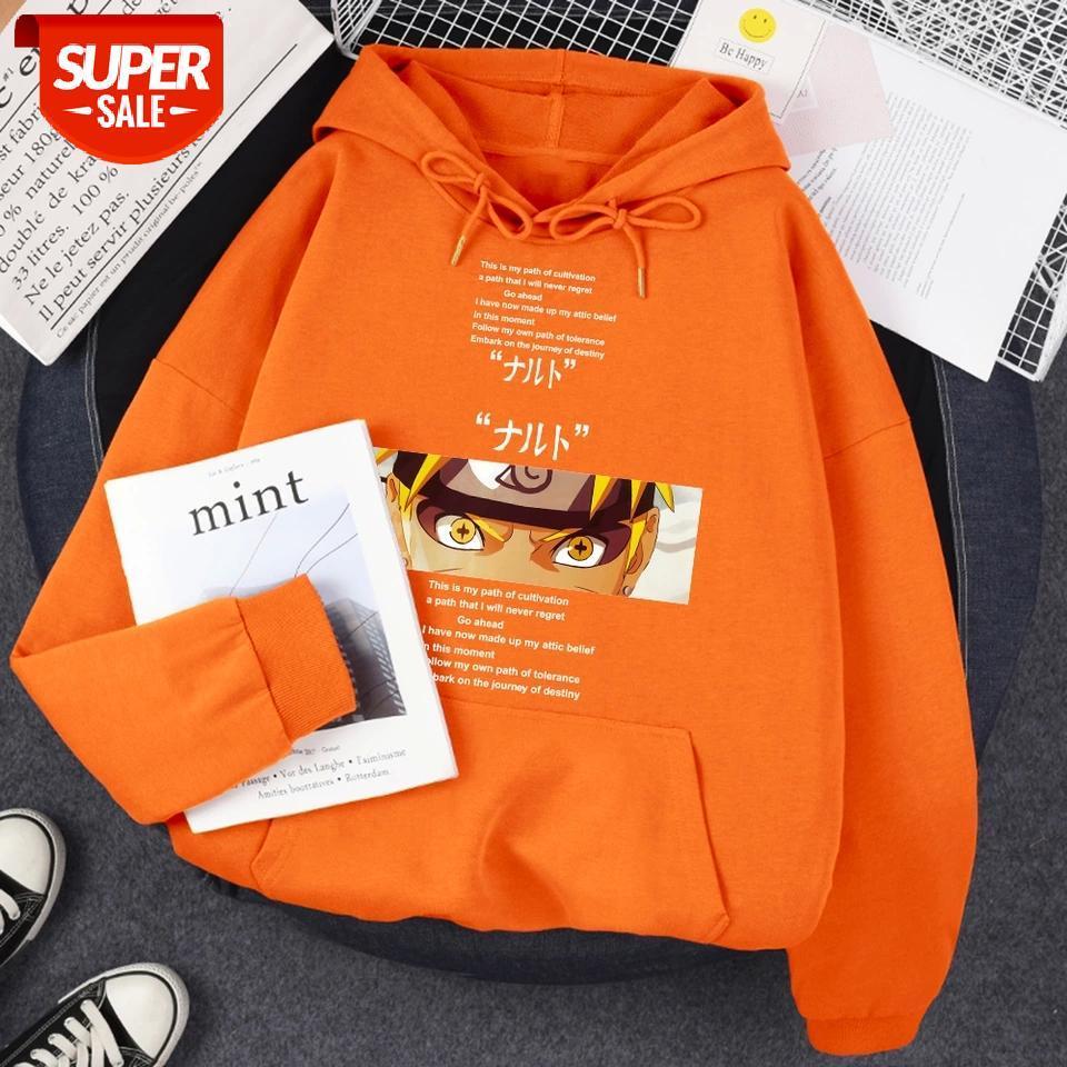 Hoodie For Men Naruto Manga Print Warm Clothing Cartoons Fleece Streetwear Fashion Fleece Swearshirt Personality Oversize Hoody #2M1A