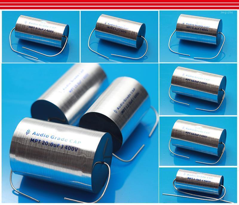 1 Adet Audiophiler Axial MPT MPP 400 V HIFI DIY TREBLE MEXTIAN HOPARLÖR Frekans Bölücü için Mediant Capacitor Capacitor1