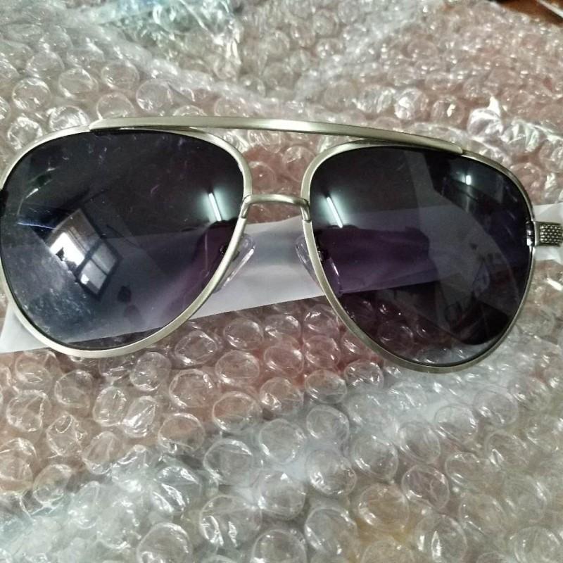 Lunettes de soleil surdimensionnées hommes Square Square Square cadre lunettes de soleil pour hommes pilote lunettes de soleil marque conduite lunettes de soleil lunettes métalliques lunettes de soleil