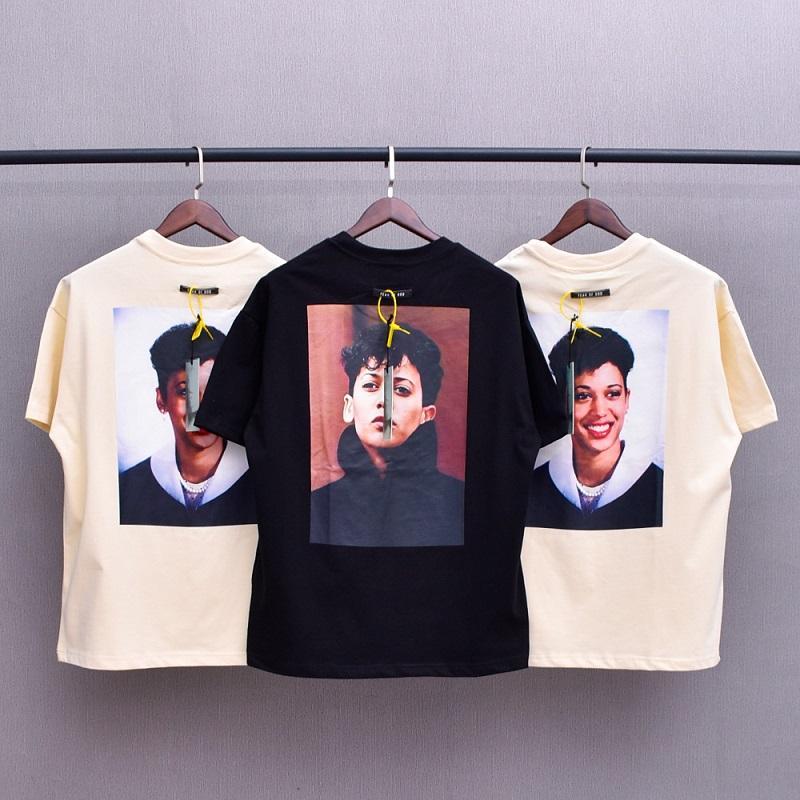 2021 Europa hip hop legal caráter foto kh20 3m reflexivo camiseta t skates solto tshirt homens mulheres algodão de manga curta tee