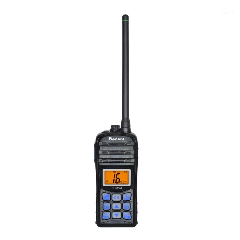 Marine VHF Radio Walkie Talkies RS-35M Impermeabile IP67 Interphone Interphone Transmettitore di ricetrasmettitore di emergenza1