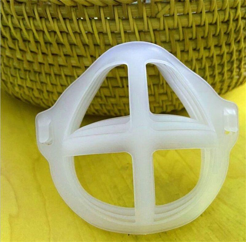 3D Face Mask Inner Adult Anti Poeira Máscaras Suportes Batom Suporte Frame Bracket Batons Proteção Acessórios 19 J2
