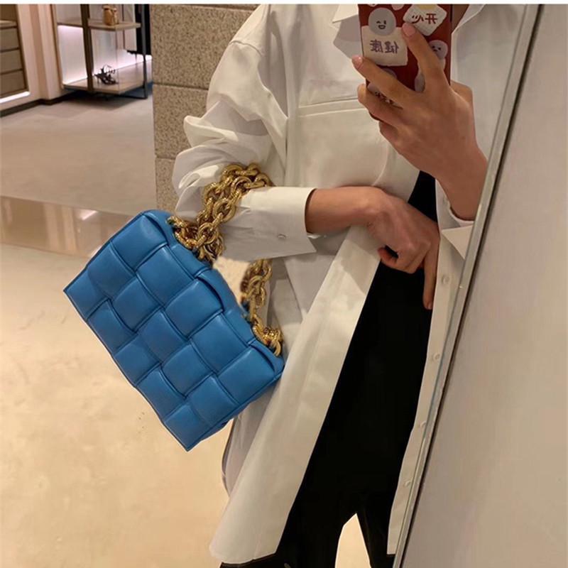 Kadınlar için tote çanta 2021 lüks inek deri düz crossbody tote çanta yatay bayan omuz çantaları çanta ve zincir çanta