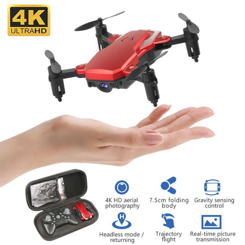 2020 Mini Drone HD Camera 0.3MP 2.0MP 5.0MP 4K Hight Espera Modo RC Quadrotor RTF Aérea Vídeo WiFi FPV Dobre helicóptero 3D Flips