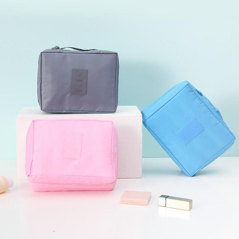 3pcs / lot Donne Borsa cosmetica Sacchetto di lavaggio sacchetti di stoccaggio sacchetti impermeabili Accessori per la casa pieghevoli portatili per il viaggio1