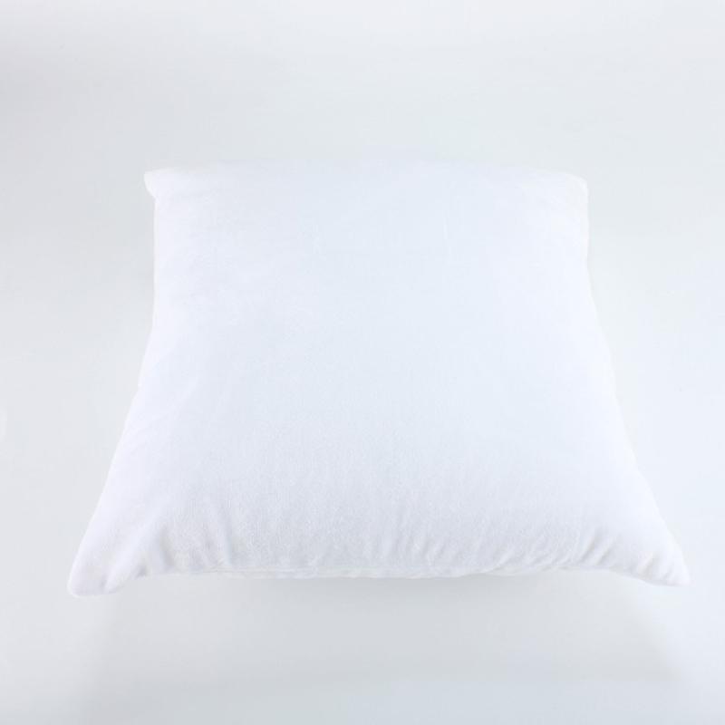 Soft Blank Transfer di alta qualità Trasferimento di calore Sofà Federa 40 * 40cm Bianco Sublimation Couch Cuscino Cuscino cuscino cuscino