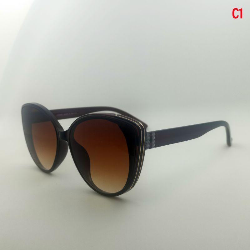 De Güneş Gözlüğü Lunette Adam Tasarımcı Yeni Lunettes Kadınlar UV400 Kadın Moda Gözlük Kedi Göz Kelebek Pilot Wdudn