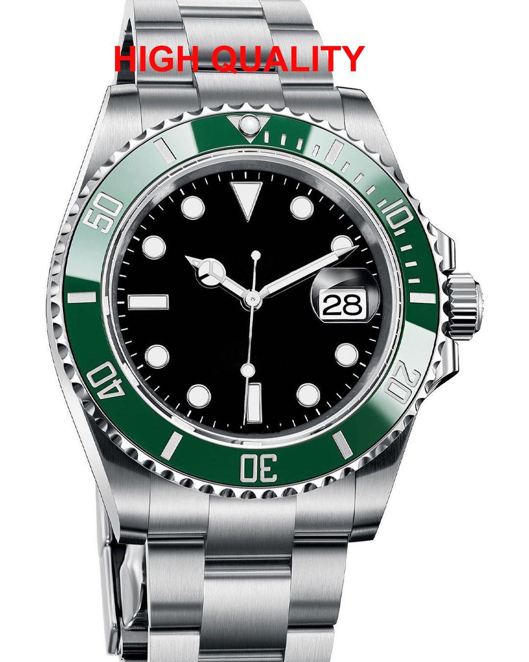 세라믹 베젤 남자 망 패션 여성 마스터 자동 기계 운동 GMT 디자이너 시계 남자 빛나는 다이아몬드 손목 시계 시계 2021