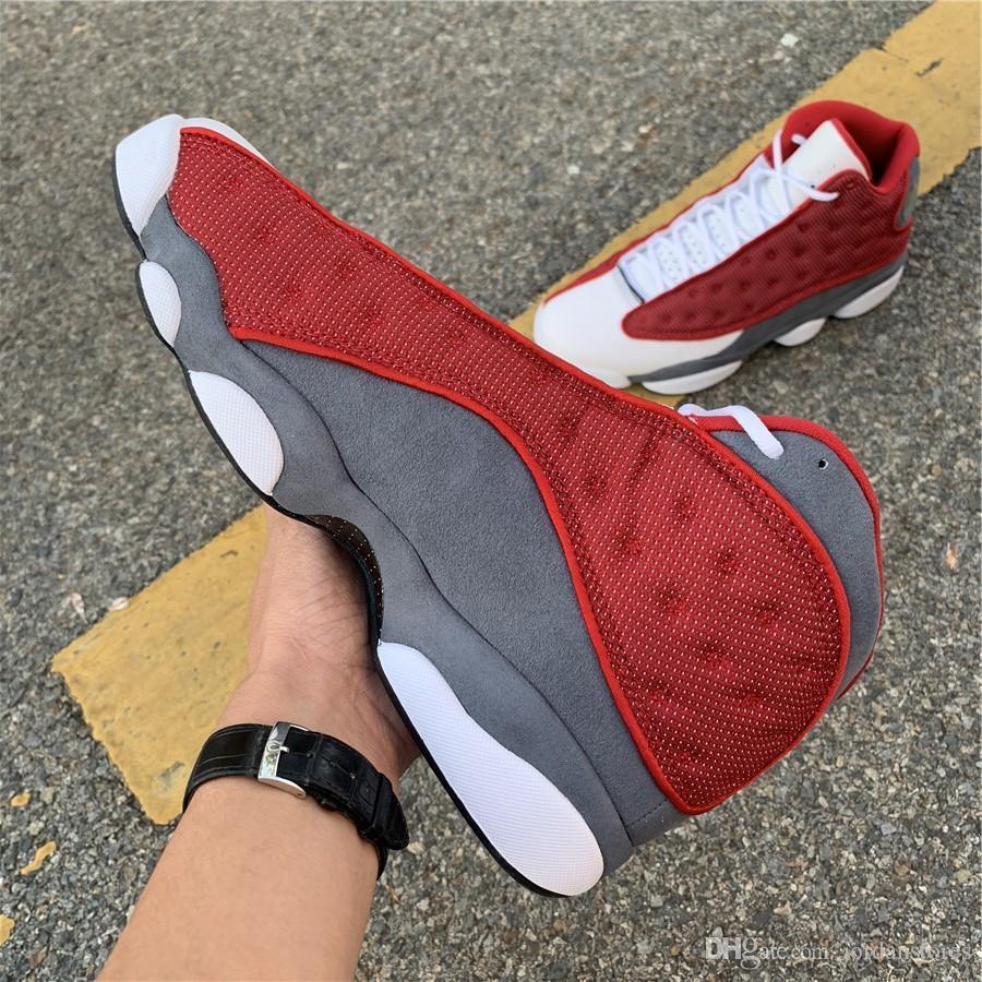 Avec Boîte Mens Basketball Chaussures Sneakers 13s IV Singles Jour de Singles Red Outdoor Athlétisme Sports Chaussures de sport pour hommes Formateurs US7-12