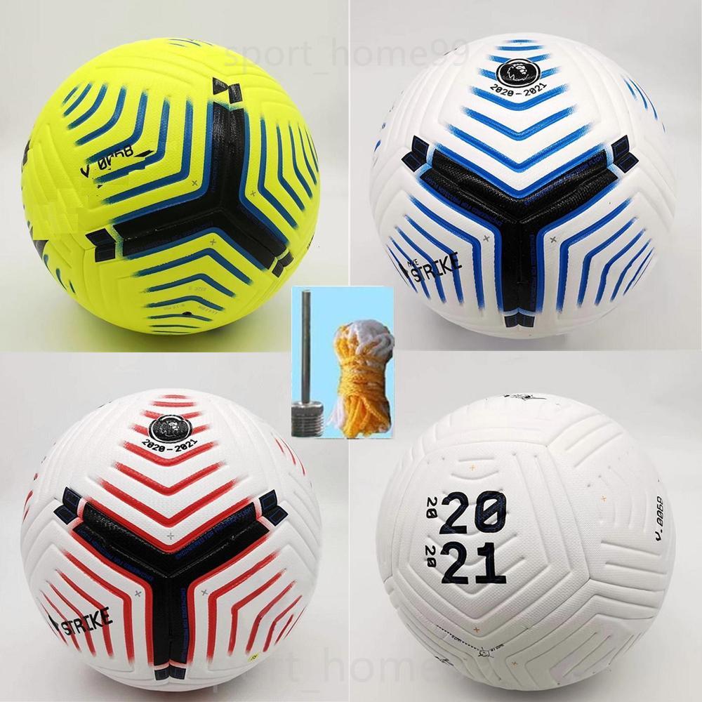 클럽 리그 5 공 2020 2021 축구 공 크기 5 고급 좋은 경기 리가하기 Premer 결승 (20) (21) 축구 공 (공기없이 공을 배송)