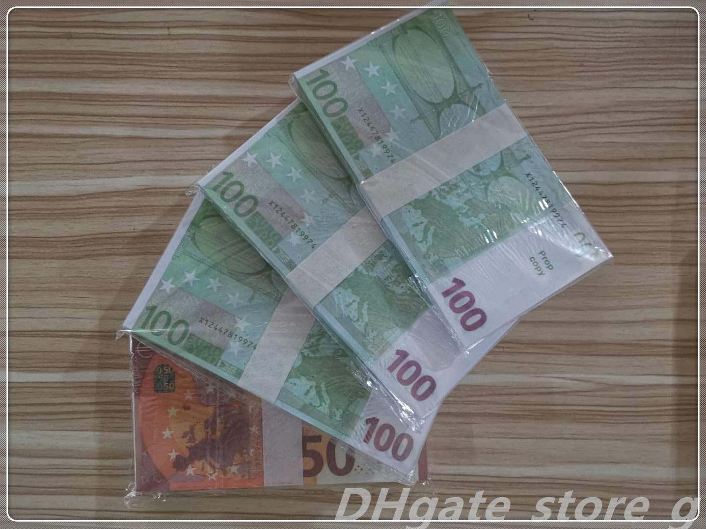 Top Nightclub Billet Qualität Bar Pfund Euro Wuucg Film EUR Geld Spiel Atmosphäre Geld Geld Großhandel Billet Gefälschte Prop LB-103 Faux DGGQK