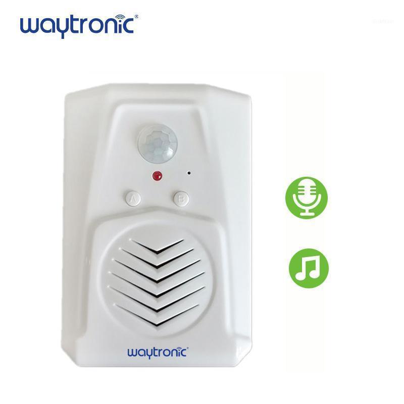 Sensor de movimento PIR ativado Player de gravação de som com microfone embutido gravável áudio, lembrete de voz diária, porta-cumprimentar1