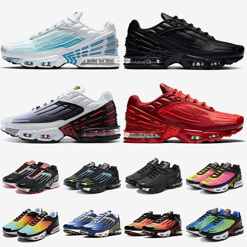 zapatos tn 3 tn plus 3 tuned zapatos para correr para mujer para hombre láser azul púrpura gris negro rojo blanco zapatillas deportivas