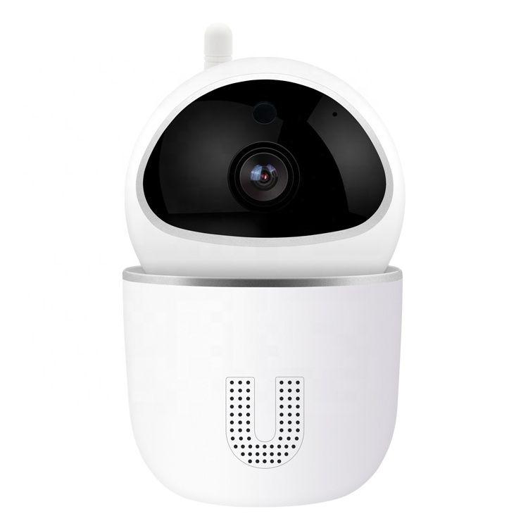 Câmera de vigilância remota sem fio 1080p 360 ° rotativa de alta definição visão noturna vocal walkie talkie tempo real monitorando a reprodução y4