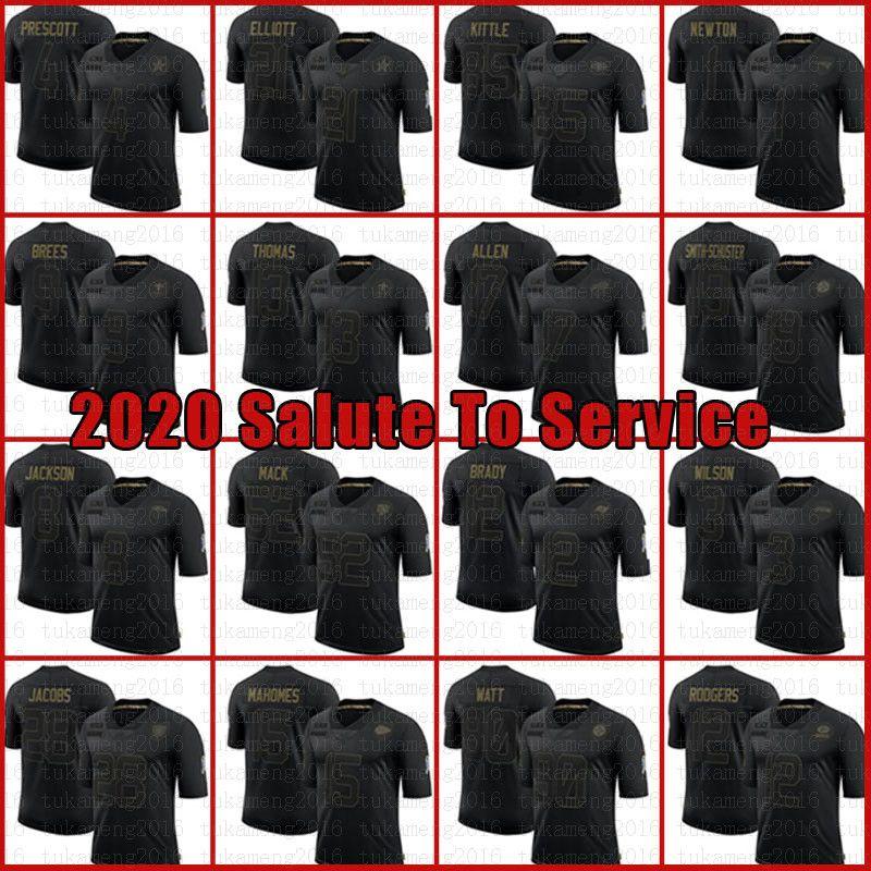Nero 2020 Salute To Servizio Patrick Mahomes 12 Tom Brady Josh Jacobs Allen Jersey Cam Newton 3 Russell Wilson Stefon Diggs BuffaloConto