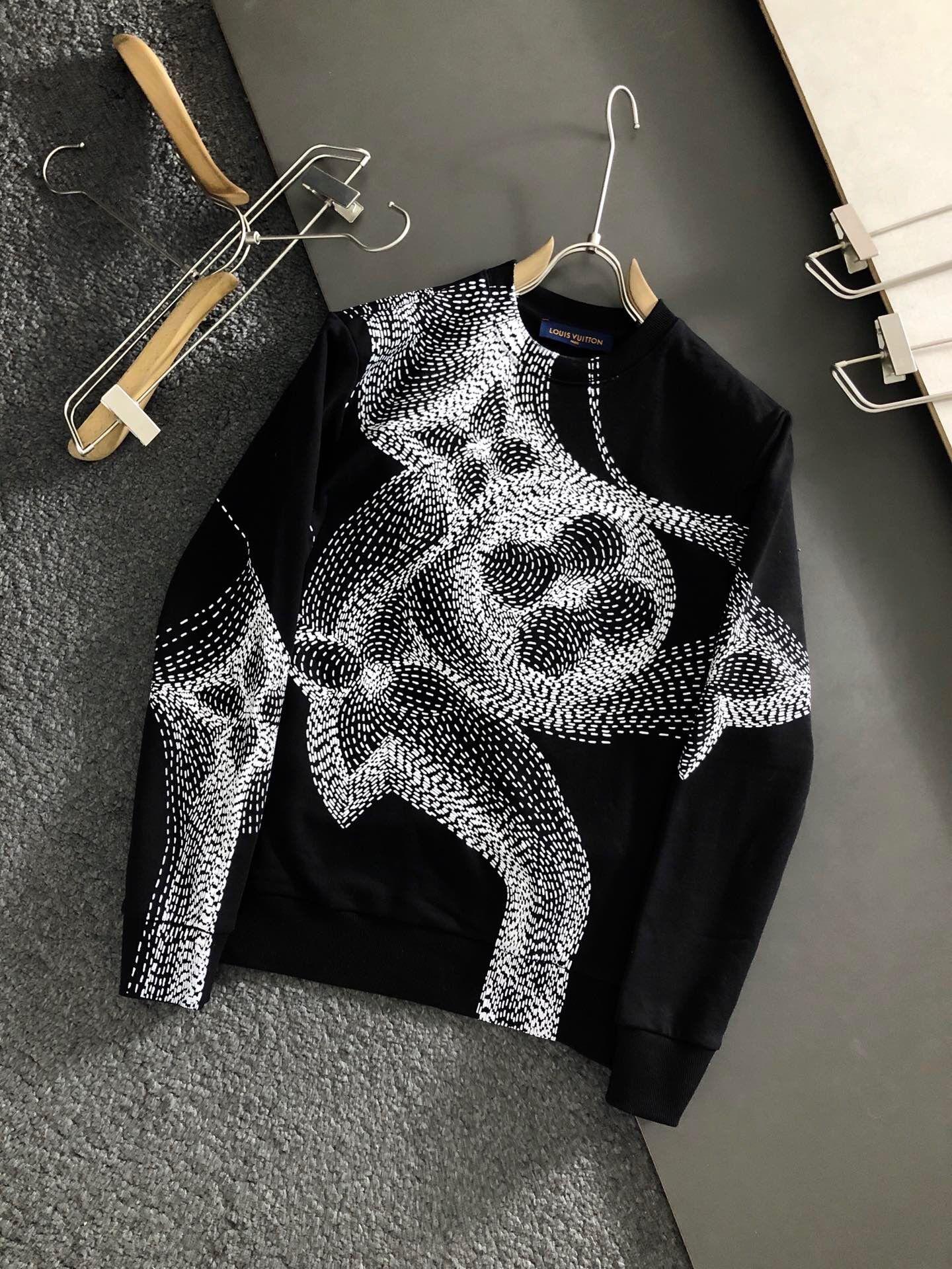 2020 kühle Männer Hoodie runden Kragen-Sweatshirt mit langen Ärmeln Herbst Winter Mode für Männer Kleidung Luxus-Designer-Männer Hoodie