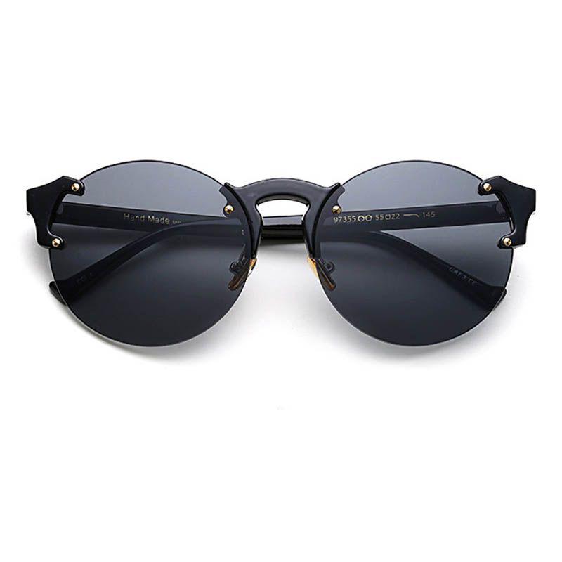 Color MICC Sunglasses 2019 Eye 2020ALOZ Brand Cat's Candy Designer Summer Women Sunglasses Fashion Round Trendy Uv400 A10 Jgctn