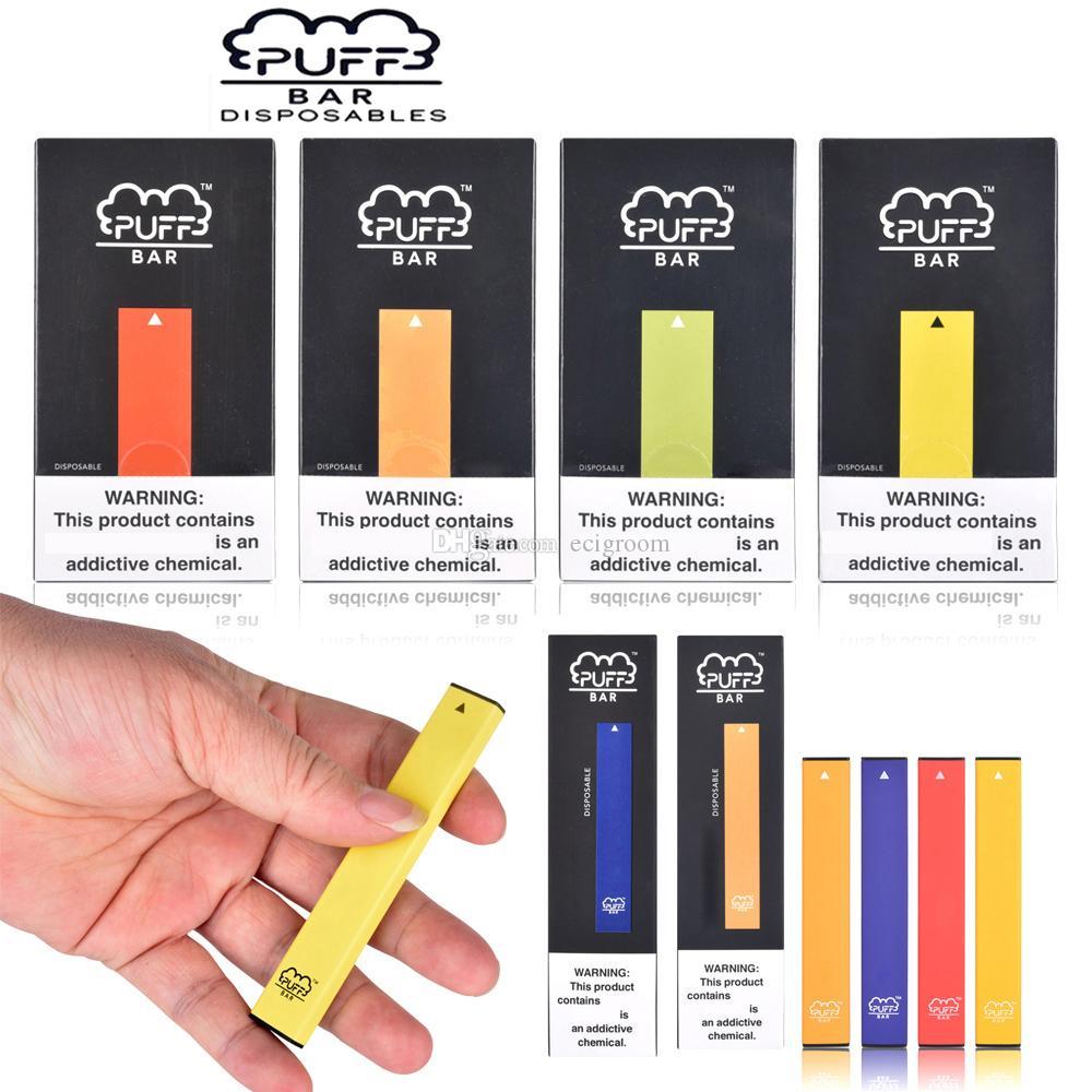 Barra de soplo 200 hits Dispositivo desechable Pod Vape Pen Starter Kit 280mAh batería 1.3ml cartuchos Puff xxl más e cigarrillos vaping
