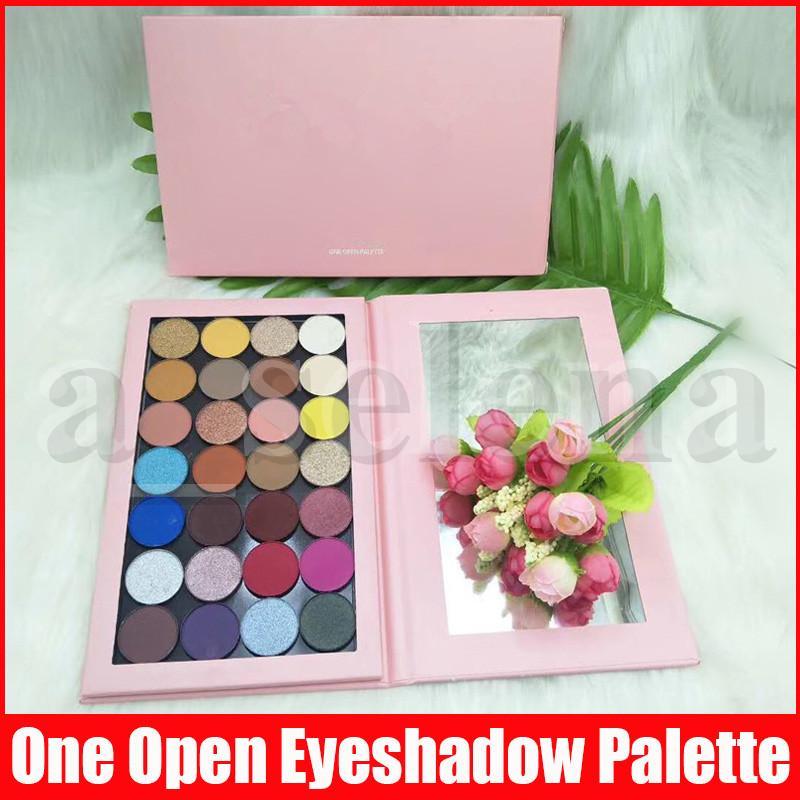 28 colori di trucco della gamma da uno aperto PALETTE Sorseggiando Abbastanza compleanno TRUCCO Shimmer Matte Eye Shadow