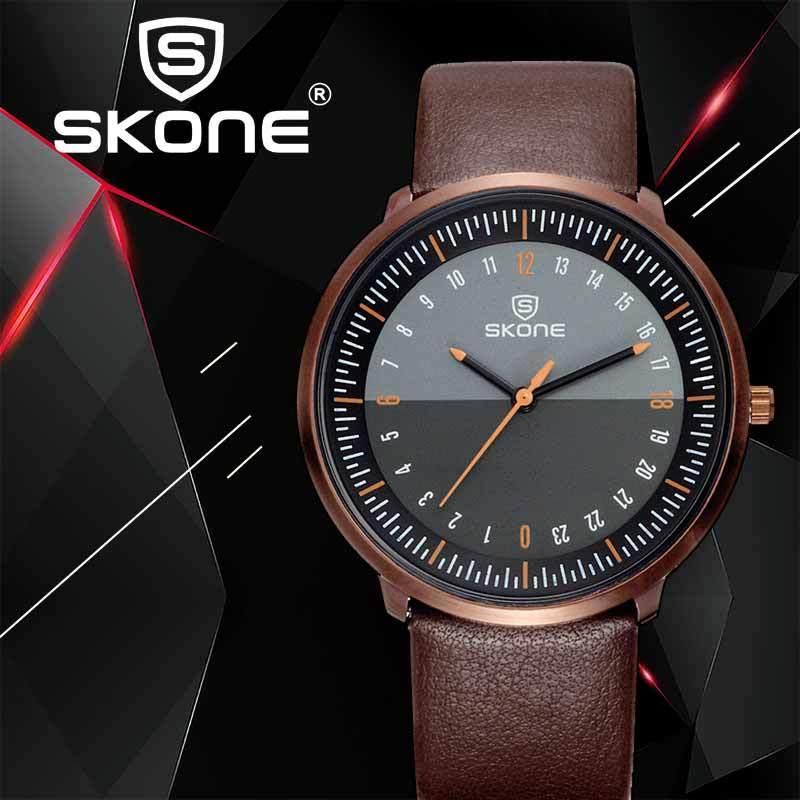 Skone Luxury Top Brand Большой набор конструктора кварцевые часы Мужчины наручные часы Новая мода Мужские часы Мужские Relogio 12 Мужчина для круглый 201114