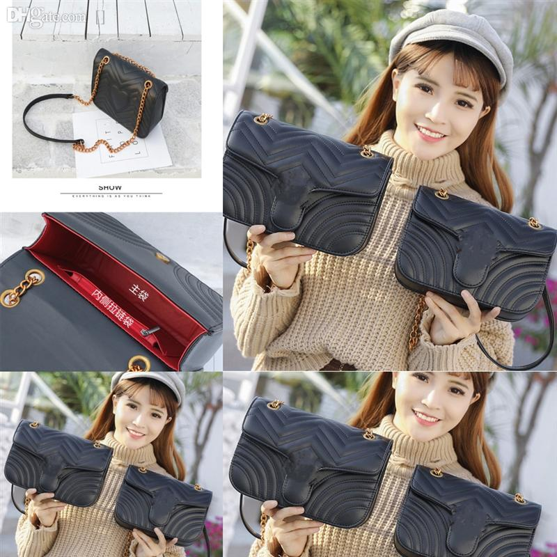 6ZsU Designer Women Handbag Chain Vintage real Shoulder Bag Women Messenger Love Designer heart V Bags Luxury Bag Crossbody Wave Pattern