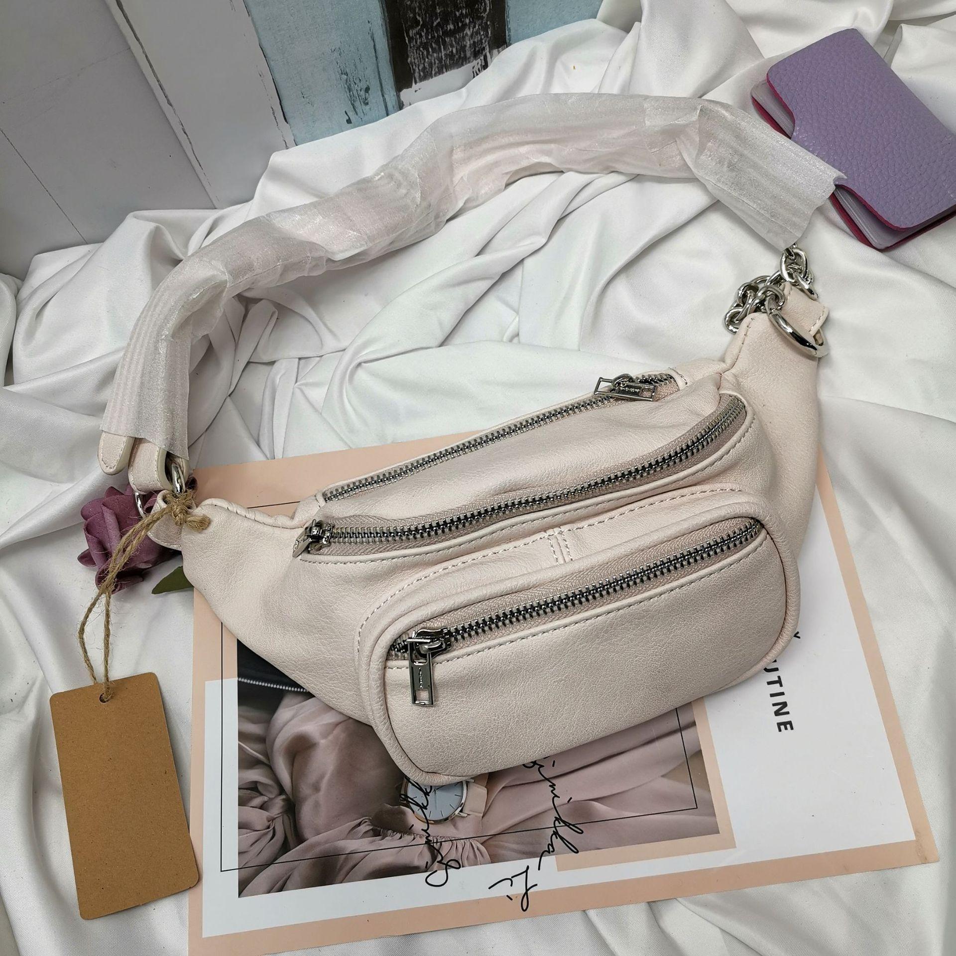 aso1U 2020 nouveau printemps l'épaule des femmes Zipper fermeture éclair BM course axillaire petit portable épaule sac sac ck Français niche 6RLs5