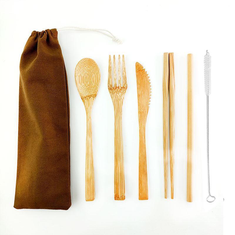 Utensílios de cozinha de madeira, madeira Ferramentas Culinária Natural antiaderente Madeira Espátula e colheres, colheres de madeira para 7pcs