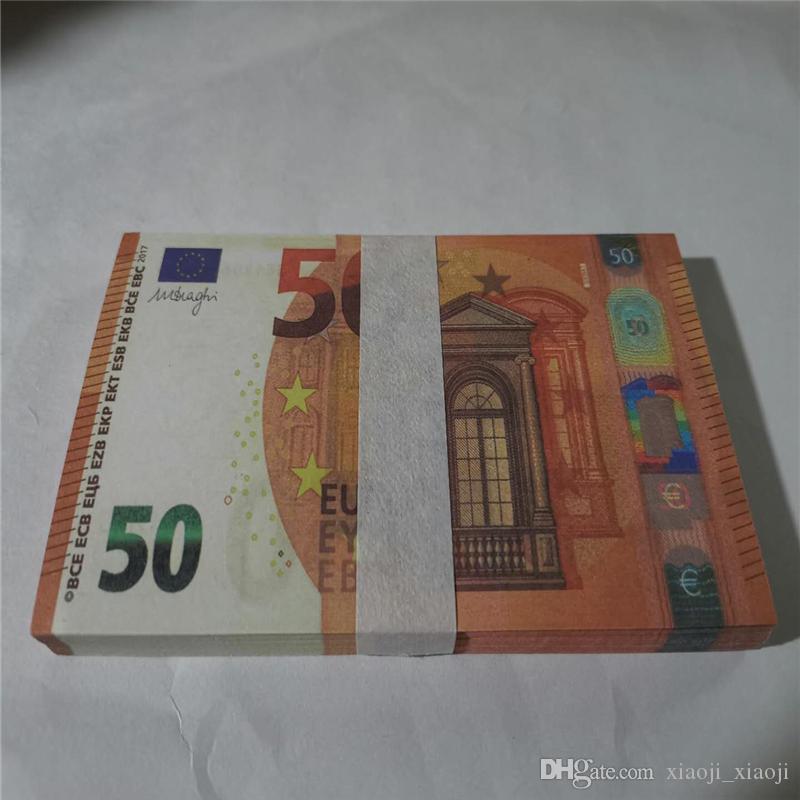 Fast Festival pour adultes en gros Fast Festival pour adultes 50 de EURO PROPS PLAY SHOOTING COIN COLLECTION Jeton Simulation de monnaie Jouet Jouet et cadeaux 28 dqgkj