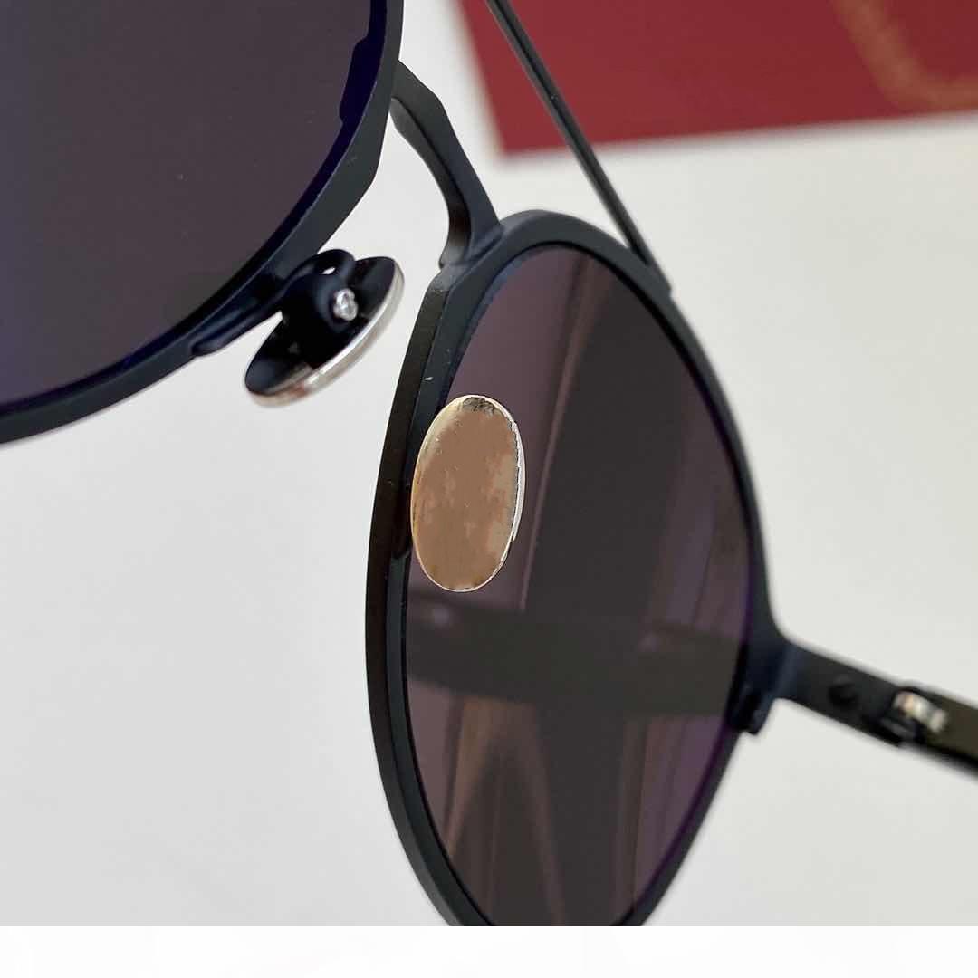 Neue Top-Qualität 0212 Herren Sonnenbrillen Männer Sonnenbrille Frauen Sonnenbrille Mode-Stil schützt Augen Gafas de Sol Lunettes de Soleil mit Box
