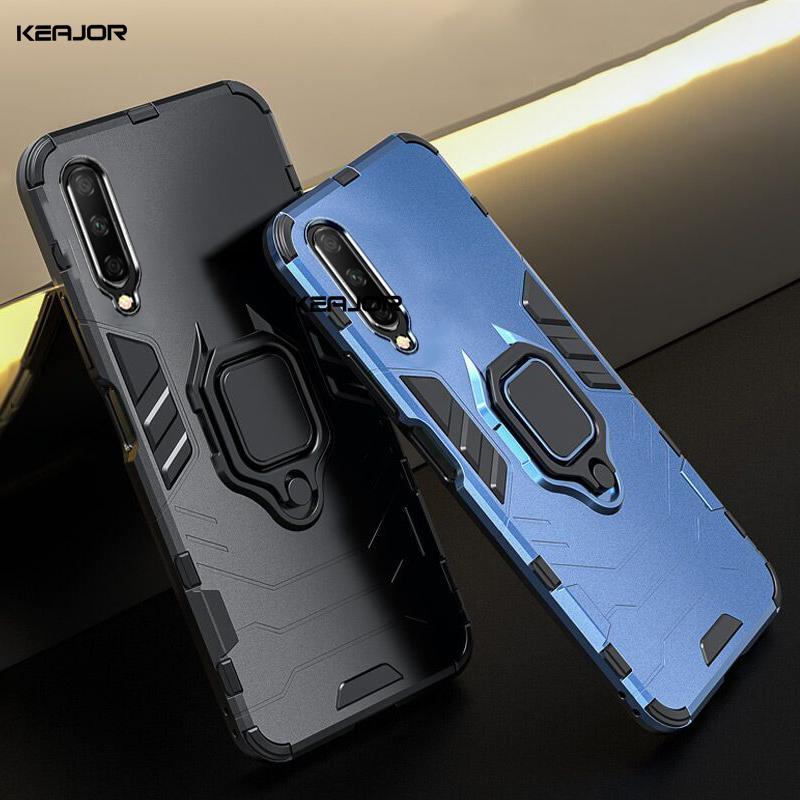 Supporto della cassa per Huawei Honor Y9S 9X Cina Case Cover Base anulare della copertura del respingente sul telefono Huawei Y9S Y9 S STK-L21 globale Version