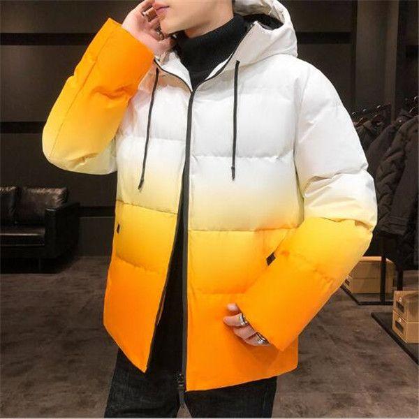 2020 invernale con cappuccio di colore cangiante spessore padded freddo cotone caldo dei rivestimenti del rivestimento cappotto nuove Capispalla Cappotti Parka
