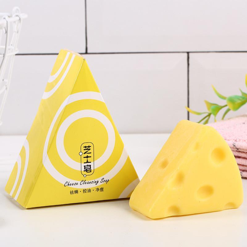 100g сырное мыло увлажняющее лечение для лечения маслом контроль масло ручной работы натуральное мыло для очистки лица уход за ванной душ 3 шт.