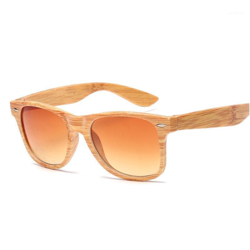 Retrô óculos de sol mulheres designers de alta qualidade imitação de madeira glasses clássico bambu sol sol óculos uv4001