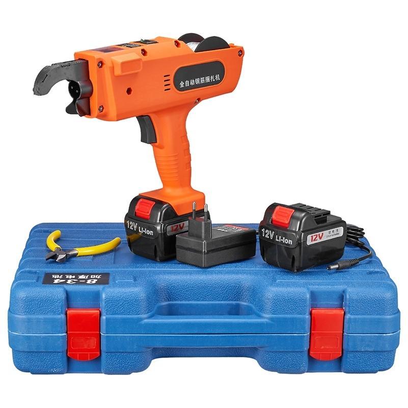 Máquina encuadernante de nivel de refuerzo 12V 3000mAh máquina de atar barra automática batería de litio de alambre inalámbrico 201226