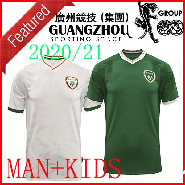 20 21 Irlande Enfants Soccer Jersey Keane McClean Brady Coleman Clark Hendrick Irish National Team 2020 2021 Shirt de football