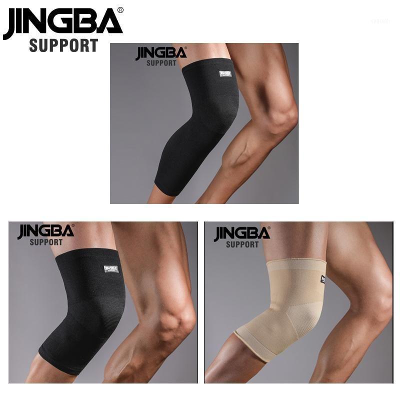 Локоть коленные колодки Jingba поддерживают 1 шт. Спортивные упругие компрессионные рукавы Брелья защита для баскетбола VolleyBall1
