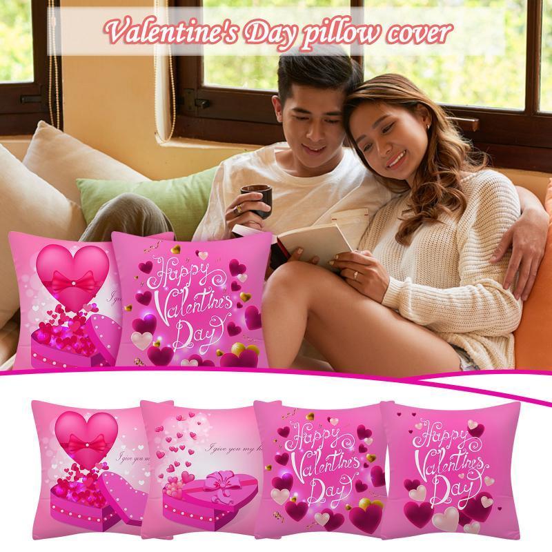 1 шт. Валентина день подушка подушка на подушке валентинка наволочка