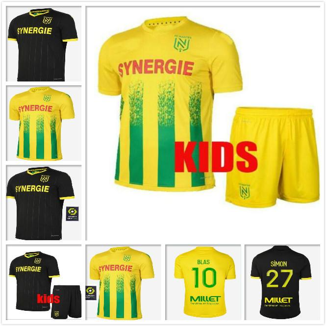 20 21 FC Jersey de football Home Maillot de Foot 2020 2021 Simon Louza A Toue Blas Coco Coco Coulibaly Shirts Top Thaïlande Qualité